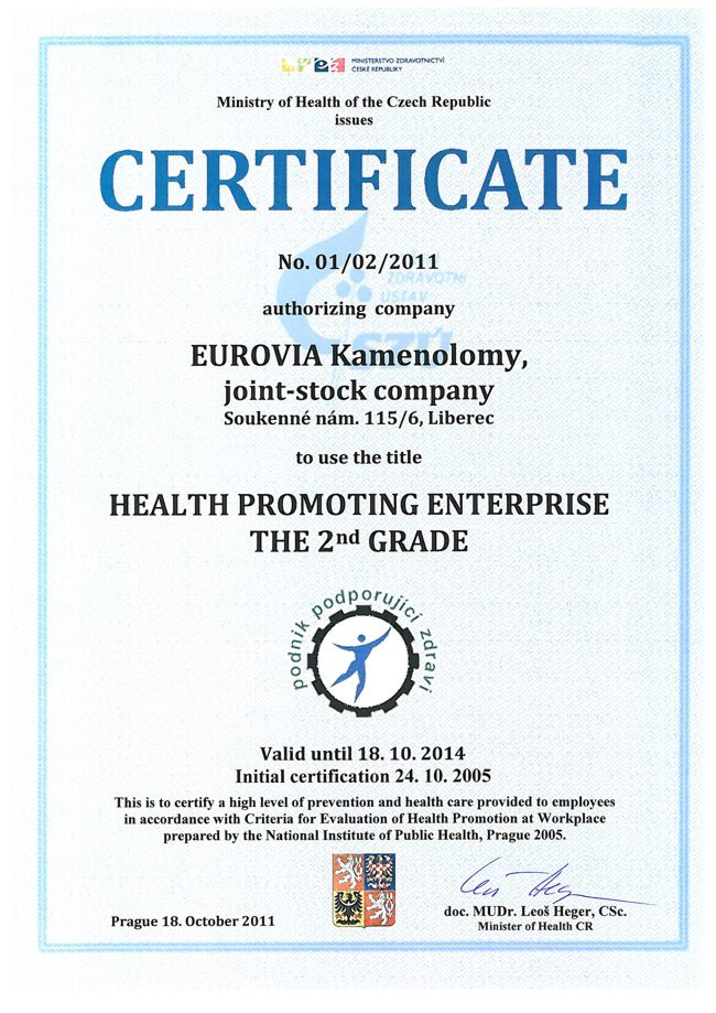 Health promoting enterprise